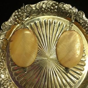 Handmade mother of pearl earrings fashion jewelry